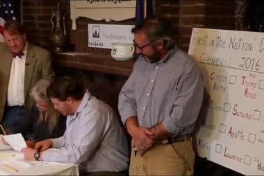 Voting kicks off in Dixville Notch, NH
