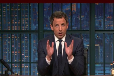 Seth Meyers reaches out to Trump voters