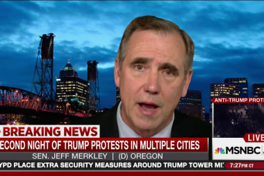 Sen. Merkley: SCOTUS seat 'is being stolen'