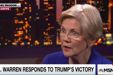 Senator Warren: 'Get out there and volunteer'