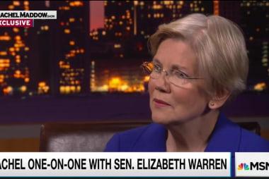Senator Warren sees some 'overlap' with Trump