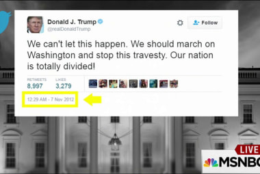 Trump called for protests in 2012, calls...
