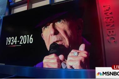 Music legend Leonard Cohen dies at age 82