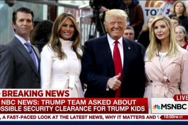Trump team asked about possible security...