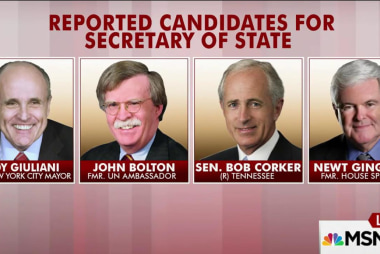 Should Trump consider Bolton, Giuliani?