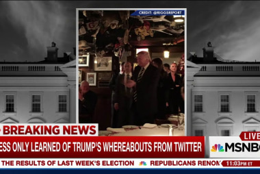 Trump ditches press & leaves Trump Tower...
