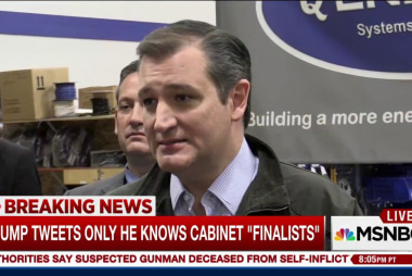 Report: Ted Cruz in talks to be Trump's...