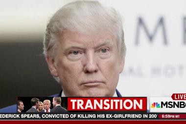 President-elect @RealDonaldTrump