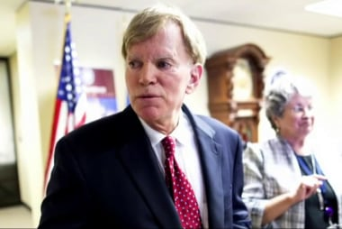 David Duke attacks Dem senator over Trump win