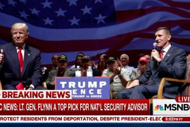 NBC News: Lt. Gen. Flynn a top pick for...