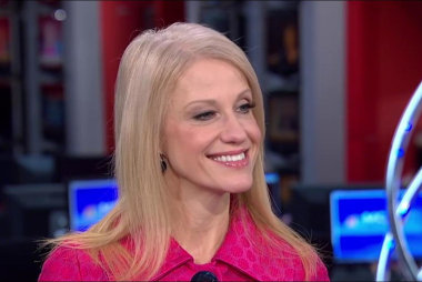 Kellyanne Conway on the status of the...