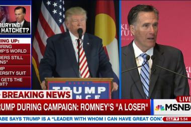 Romney in running for Sec. of State