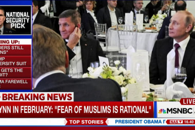 Is Flynn too cozy with Putin to be...
