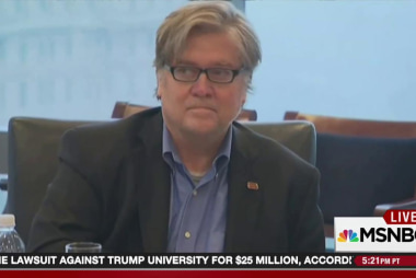Bannon speaks