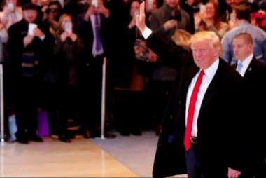 Trump 'adjusting' tone toward press?
