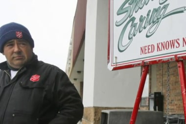 Salvation Army celebrates 126 years of red...