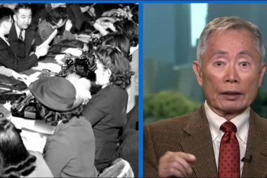 Takei still 'shell shocked' by internment...