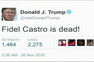 Trump, Cruz react to Fidel Castro's death