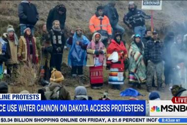 Dakota Access Pipeline protesters face...