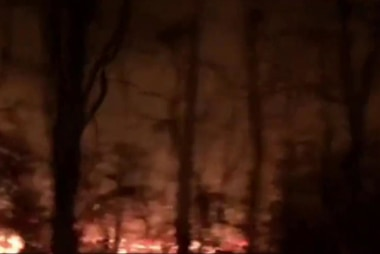Wildfires force evacuations in Tennessee