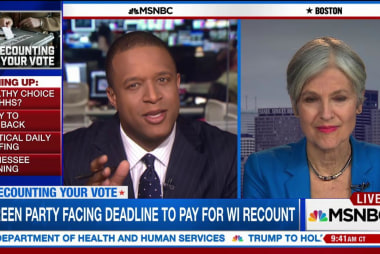 Stein: 'We deserve to have peace of mind'