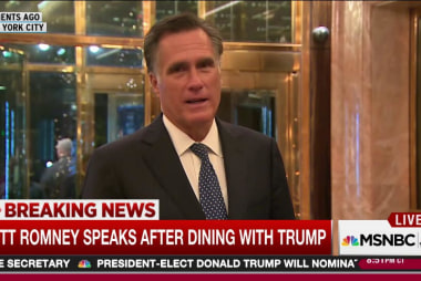 Romney: 'Enlightening' discussions with Trump