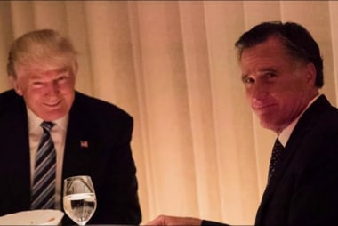 Romney's changing tune on Trump