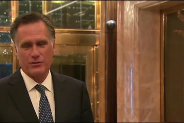 Romney changes his tune on Trump