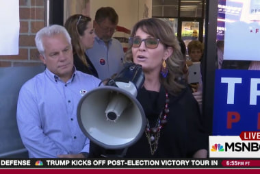 Palin probably not getting Trump cabinet spot