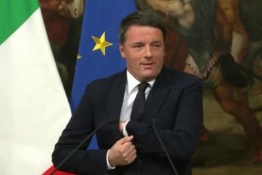 Italian PM announces resignation