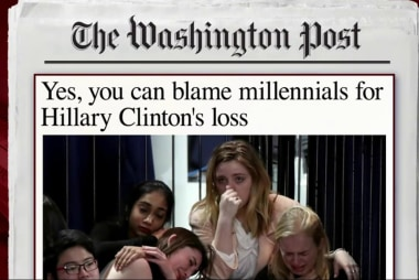 Is it safe to blame millennials for...