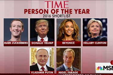 Time releases shortlist for person of the...