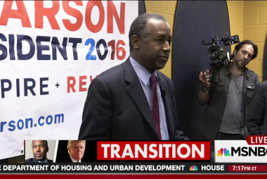 Trump picks Carson for HUD Secretary