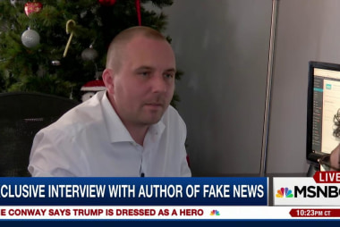 Interview with man behind fake campaign news