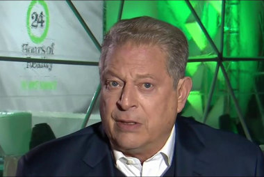 Al Gore, other Democrats meet with Trump