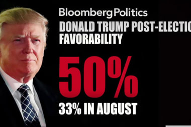 Trump gets favorability boost in new poll