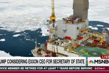 $500 billion on line for Exxon in Trump pick