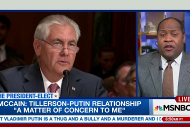 Rex Tillerson and Vladimir Putin business...