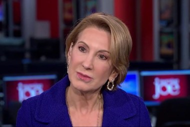Fiorina: Trump is in a position to 'reset'...