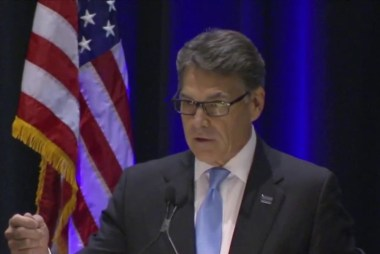 When Perry wanted to abolish the Energy Dept.