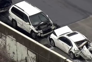 50+ pileup in Baltimore due to icy roads