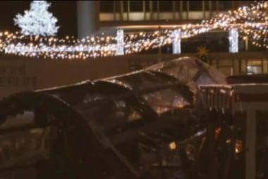 Truck plowed through Berlin holiday market