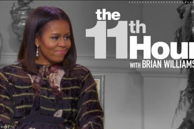 Oprah asks Michelle Obama if she would run...