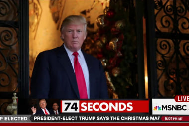 74 seconds of Trump saying (almost) nothing