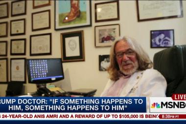 Trump's doctor cites line of succession in...