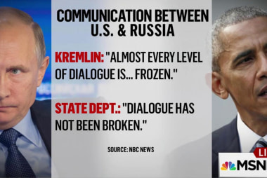U.S. denies communications 'frozen' with...