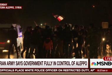Joe: Aleppo likely to haunt Obama legacy