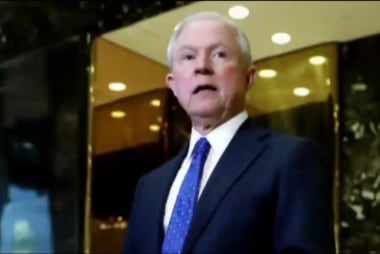 Sessions criticized for past stances on...