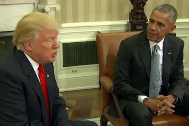 Obama: 'I have to be quiet for a while'...