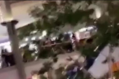 Fights break out at malls across country